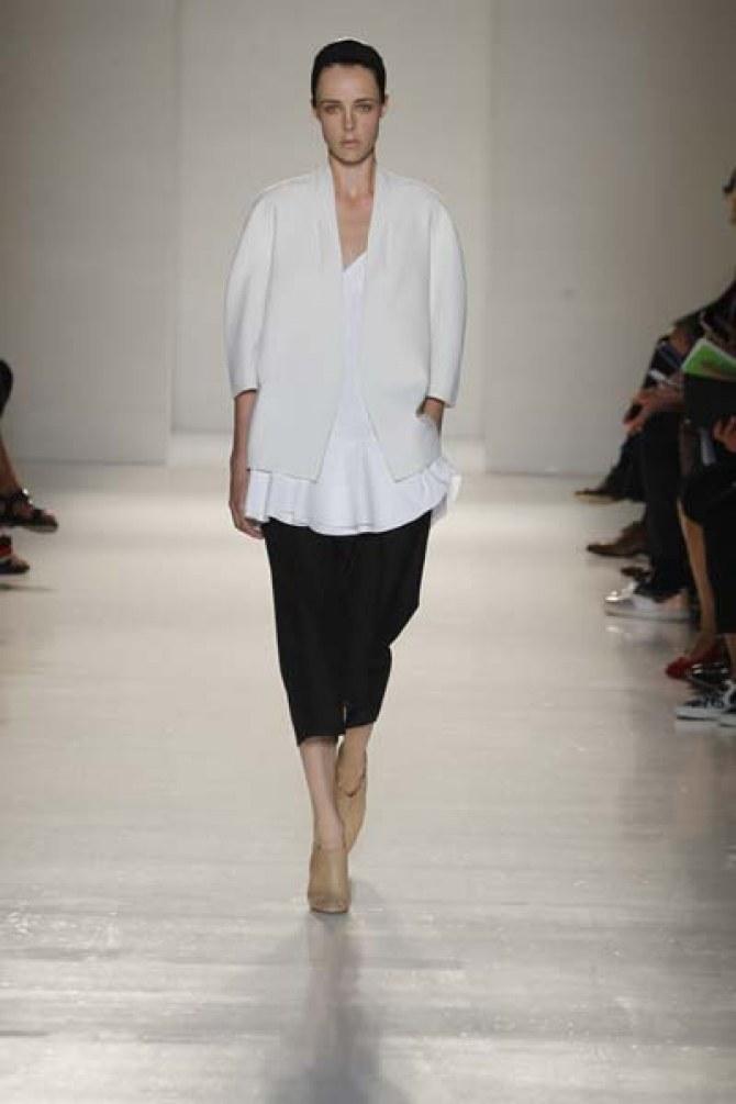 Victoria Beckham S/S14 catwalk show