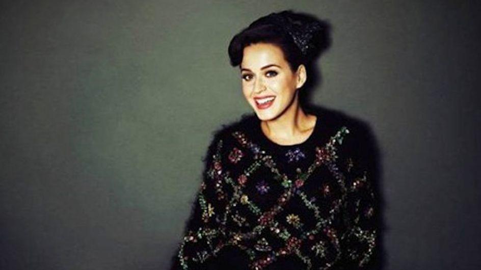 Katy Perry, chic et sexy en couv' de Glamour UK