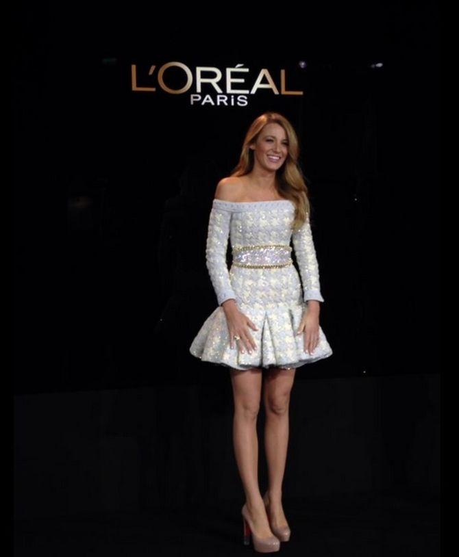 Blake Lively égérie L'Oréal Paris