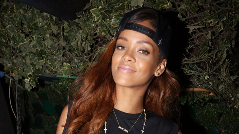 Rihanna joins battle of the butt wars in sizzling bikini photo shoot