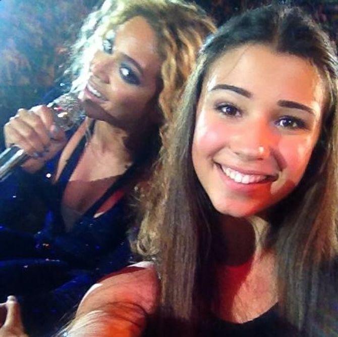 Beyoncé et Valentina