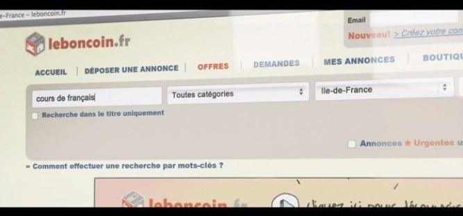 Leboncoin.fr pub Lily Allen