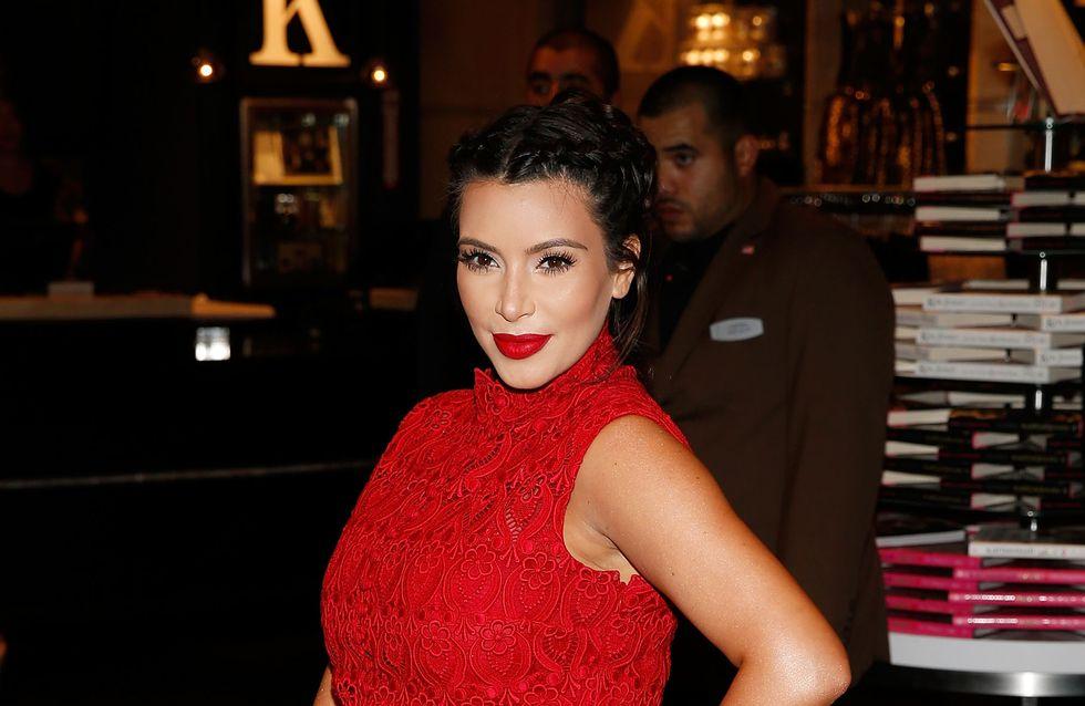 Kim Kardashian : Sa réponse à ceux qui l'ont traitée de grosse (Vidéo)