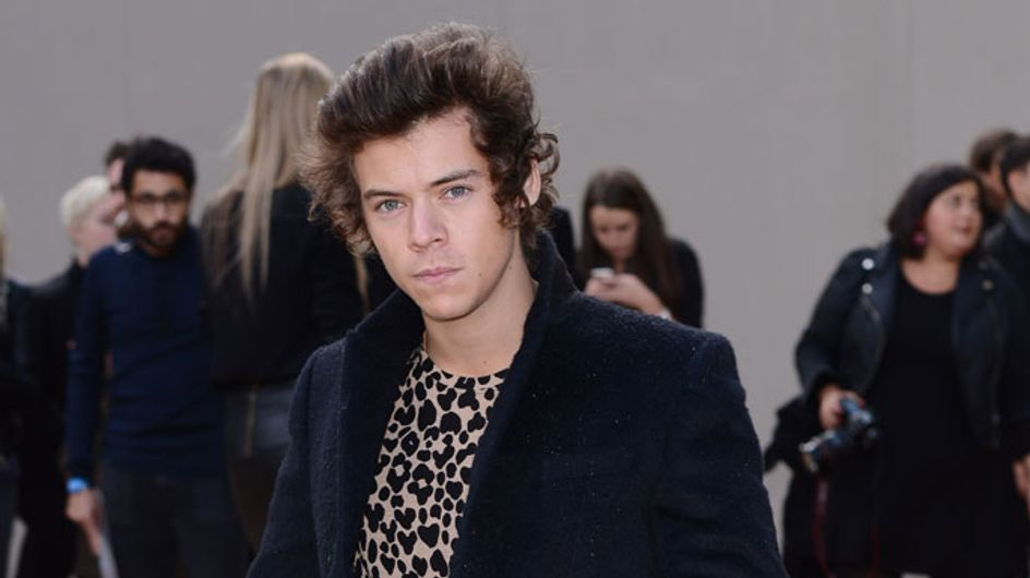Harry Styles auctions LFW Burberry t-shirt for charity