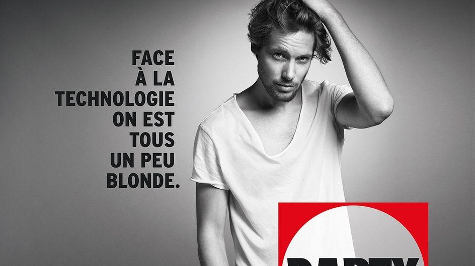 Sexisme : Darty s'attaque aux blondes (Photos)