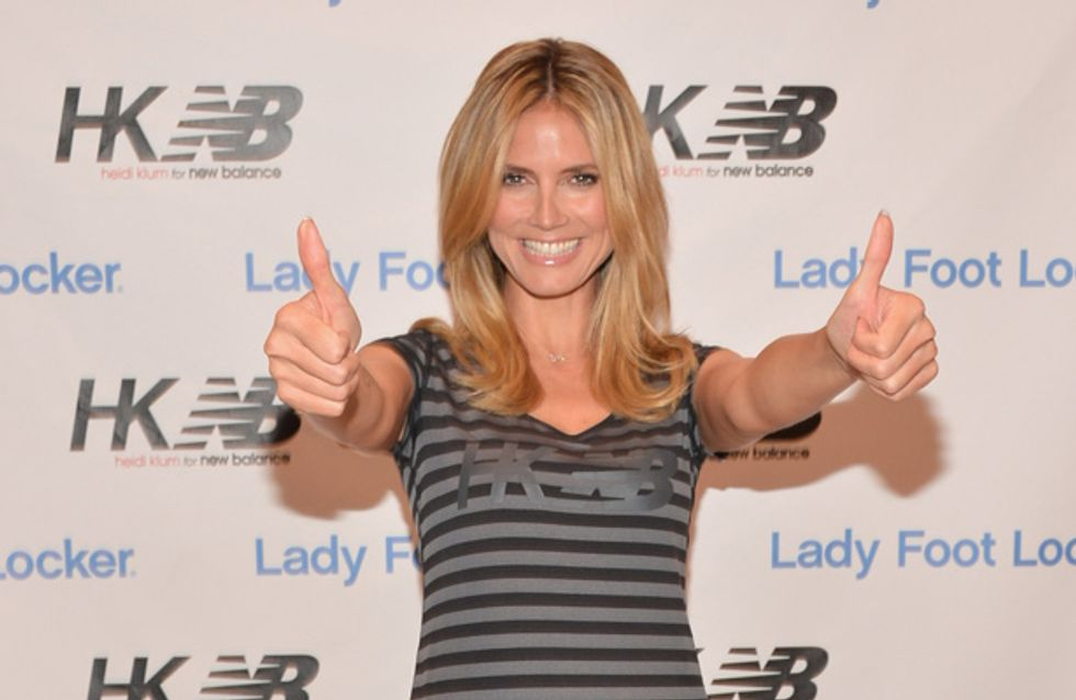 Heidi Klum transforms into wrinkled old lady for Halloween