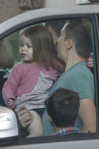 Harper and Brooklyn Beckham