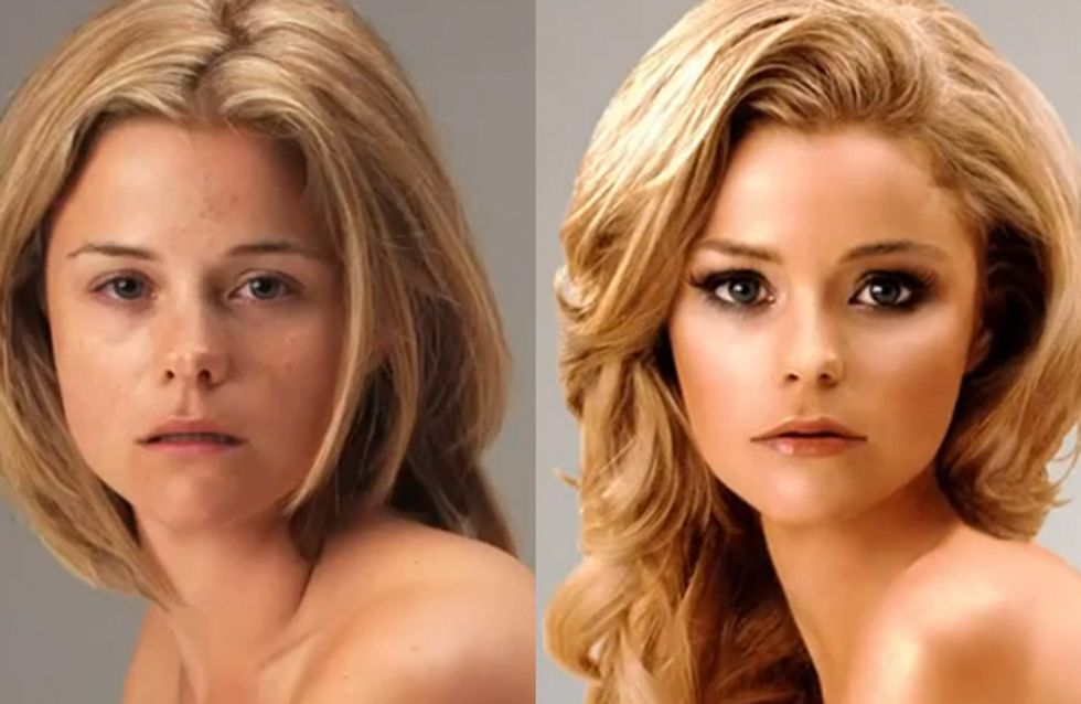 OMG Photoshop video reveals the truth behind airbrushing