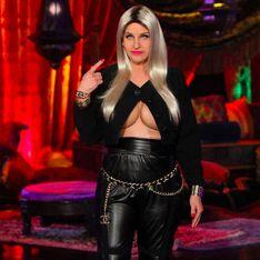 Hilarious! Ellen Degeneres dressed up as a boob-bearing Nicki Minaj for Halloween