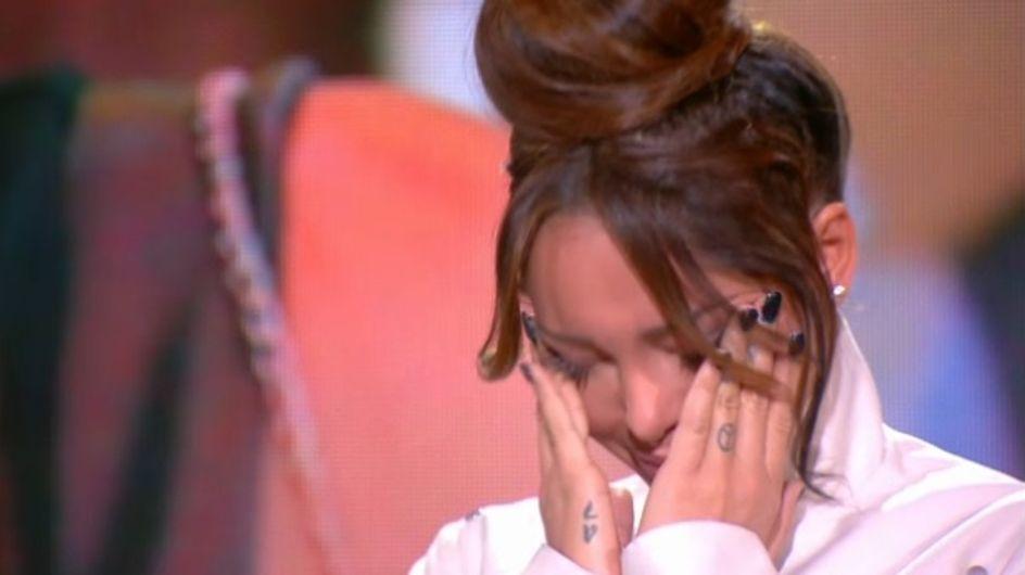 Nabilla : Elle fond en larmes en entendant son père (vidéo)
