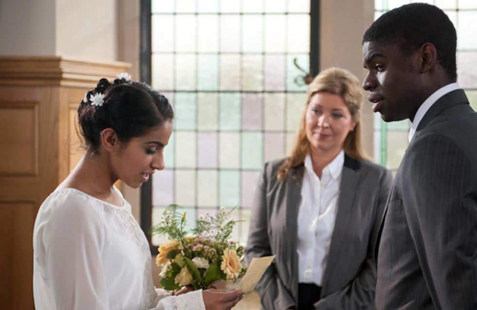 Hollyoaks 14/11 – Phoebe and Vincent get married