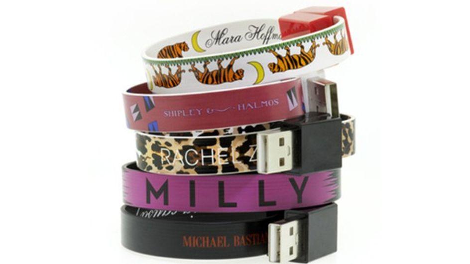Tendance geek chic : Le bracelet USB !
