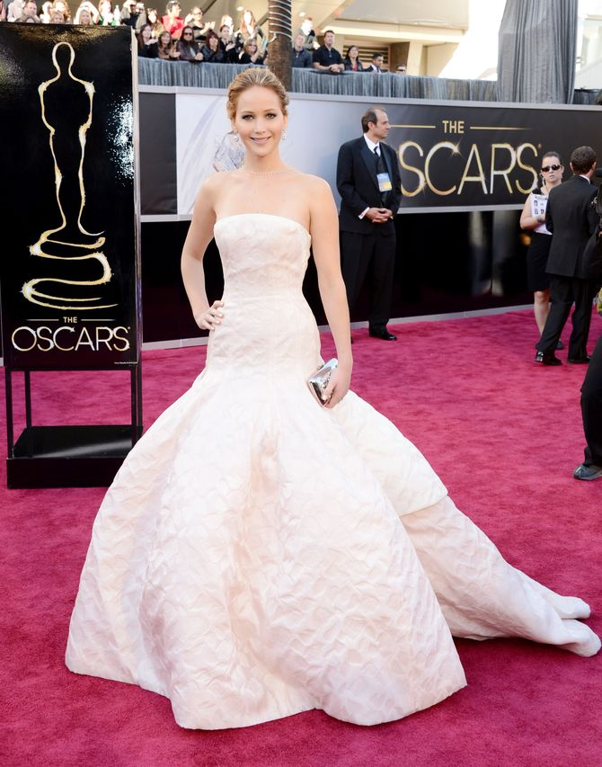 Jennifer Lawrence aux Oscars