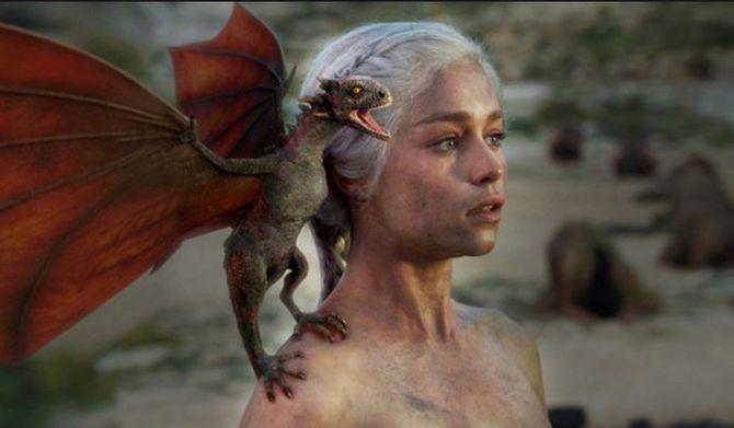 Daenerys, Mãe dos Dragões