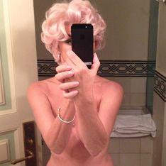 Carine Roitfeld, à moitié nue sur Instagram...