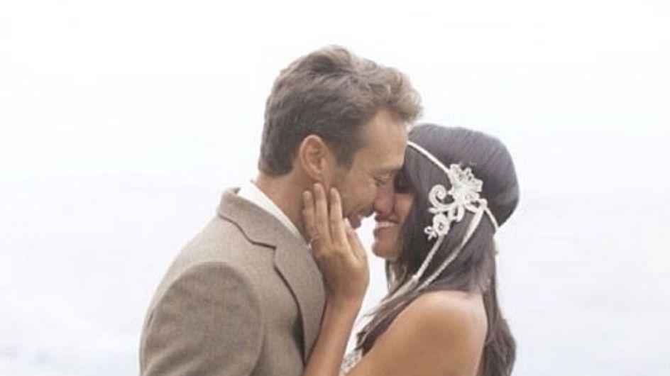 Raquel del Rosario se casa en secreto con su novio Pedro Castro