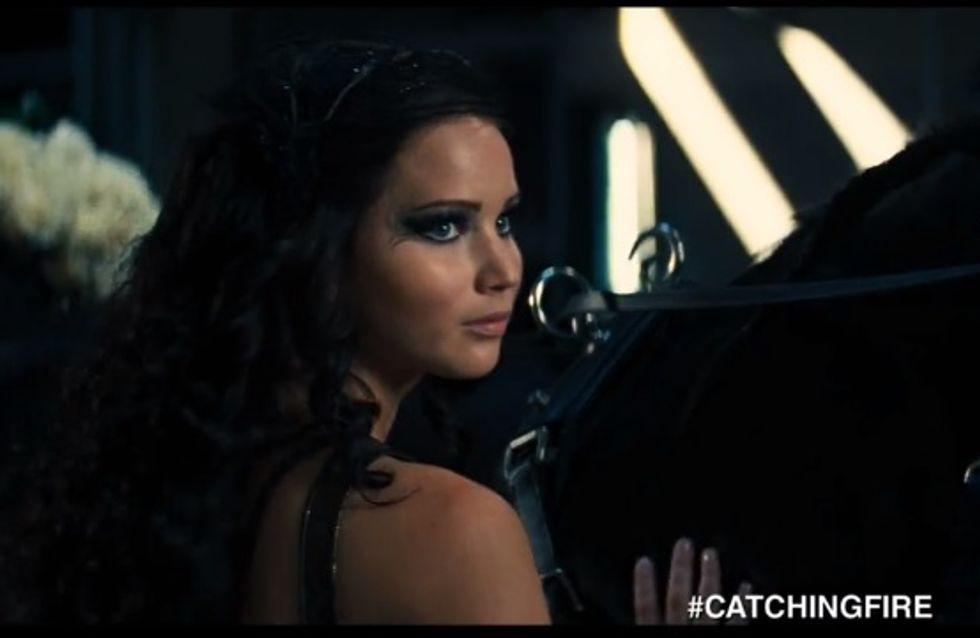 Jennifer Lawrence : Son baiser avec Liam Hemsworth dans Hunger Games 2 (vidéo)
