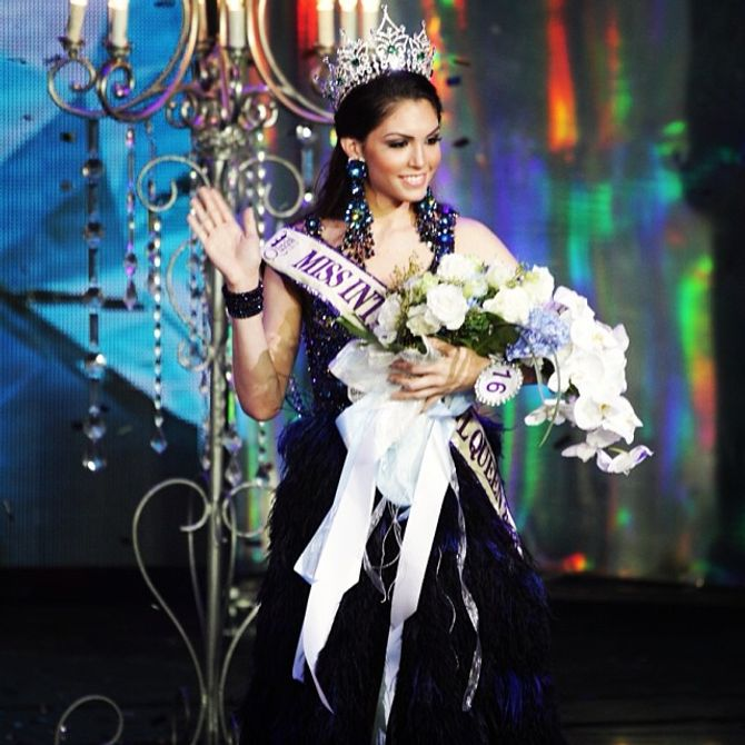 Marcela Ohio, Miss International Queen