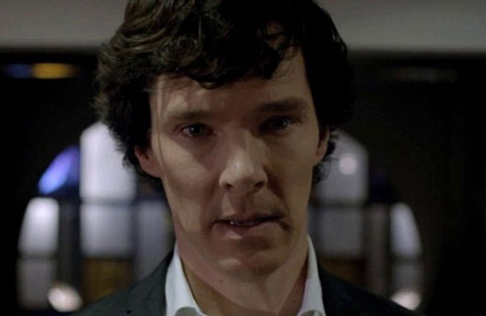 Benedict Cumberbatch fans rejoice! New Sherlock series 3 image is released