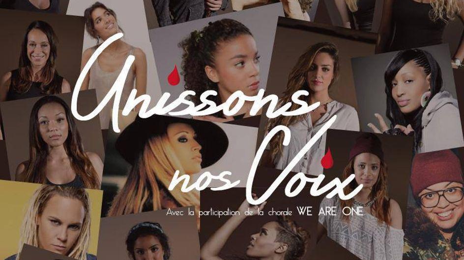 """Violences faites aux femmes : Les stars se réunissent dans le clip """"Unissons nos voix"""" (audio)"""