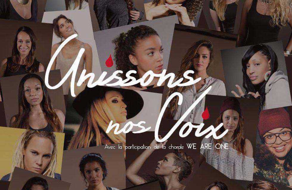 Violences faites aux femmes : Les stars se réunissent dans le clip Unissons nos voix (audio)