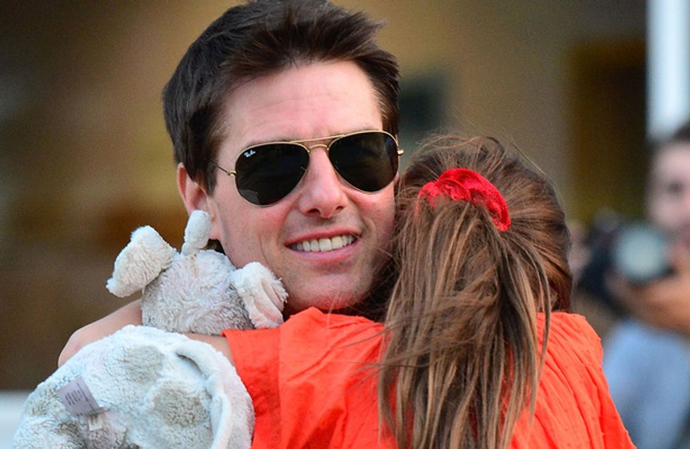 Tom Cruise denies 'cutting' daughter Suri out of his life