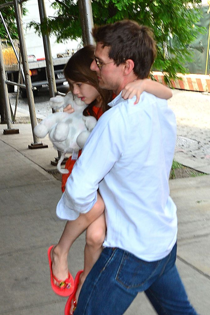 Tom Cruise and Suri
