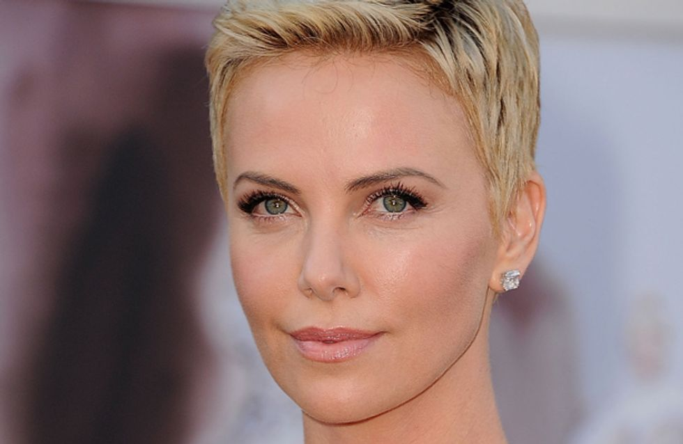 Charlize Theron forced to shave hair off by director