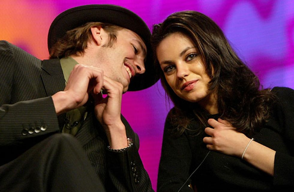Ashton Kutcher to announce engagement to Mila Kunis next week?