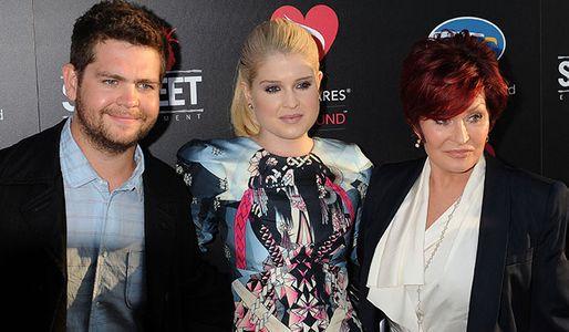 Jack, Kelly and Sharon Osbourne