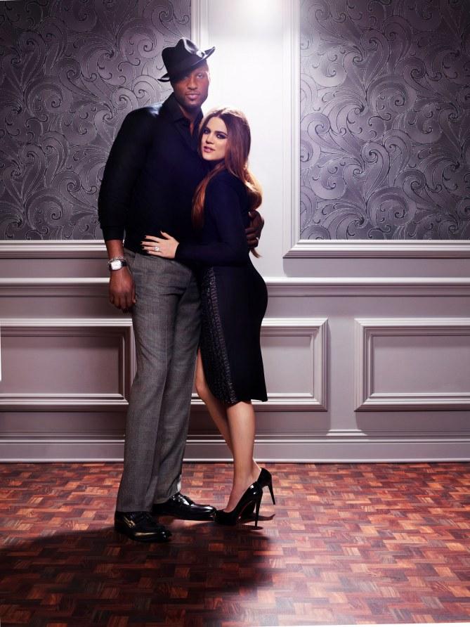 Khloé Kardashian et son mari Lamar Odom