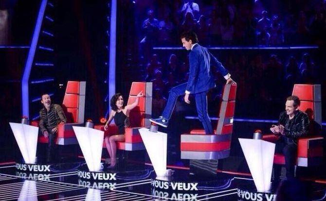 The Voice 3 audition à l'aveugle
