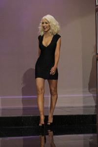 Christina Aguilera wieder schlank