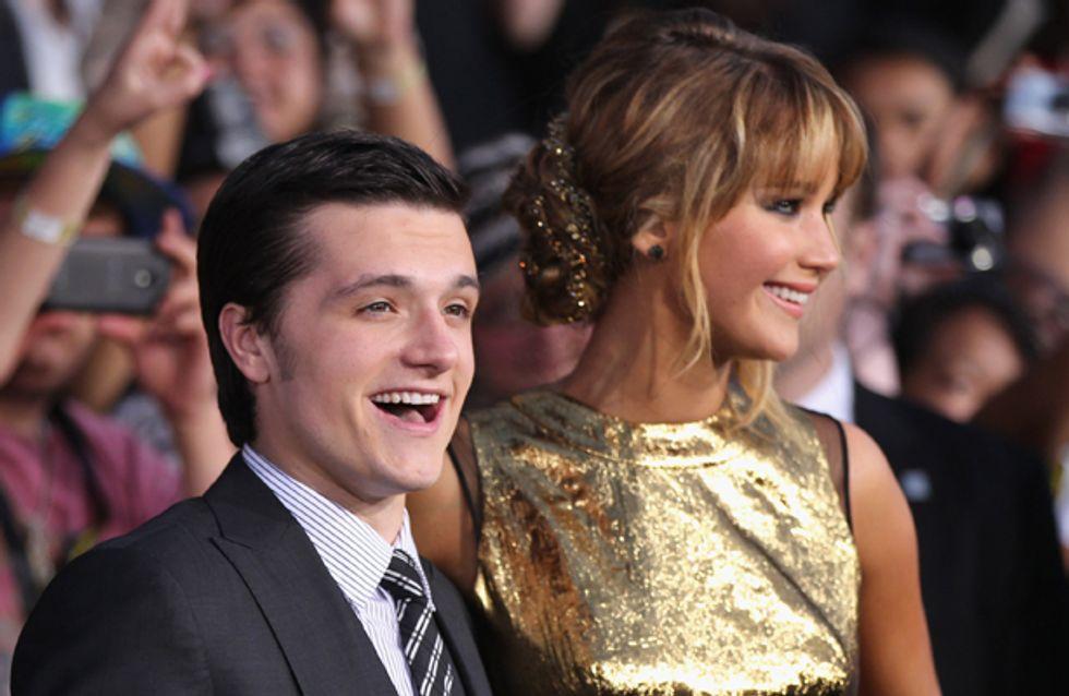 Josh Hutcherson says Hunger Games co-star Jennifer Lawrence is a good kisser