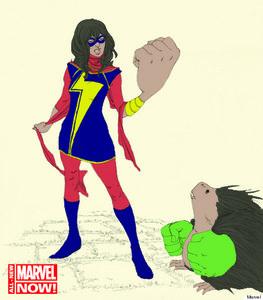 Kamala Khan, la nouvelle Miss Marvel