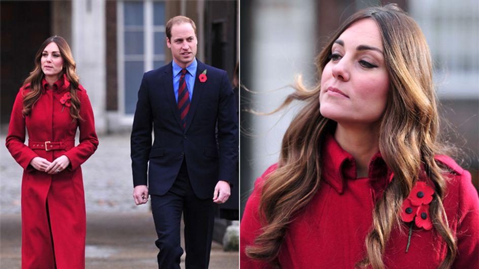 Gestresst von Baby George? Herzogin Kate mit grauem Haaransatz!