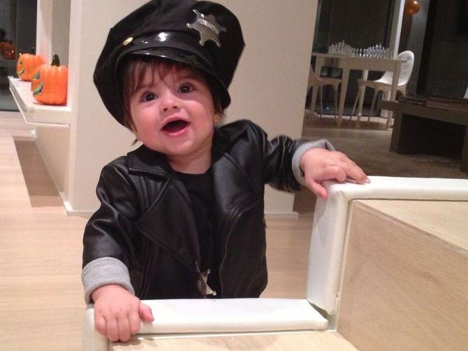 El hijo de Shakira y Piqué, Milán, se disfraza por primera vez