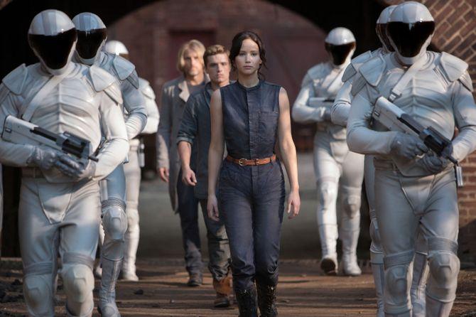 Jennifer Lawrence dans Hunger Games 2