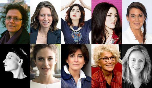 Les Candidates au Trophée du Public des Femmes en Or