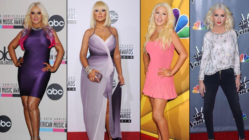 Christina Aguilera sempre più magra