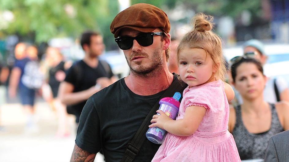 David Beckham: Probleme mit Töchterchen Harper