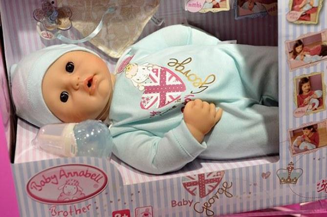 La poupée Prince George