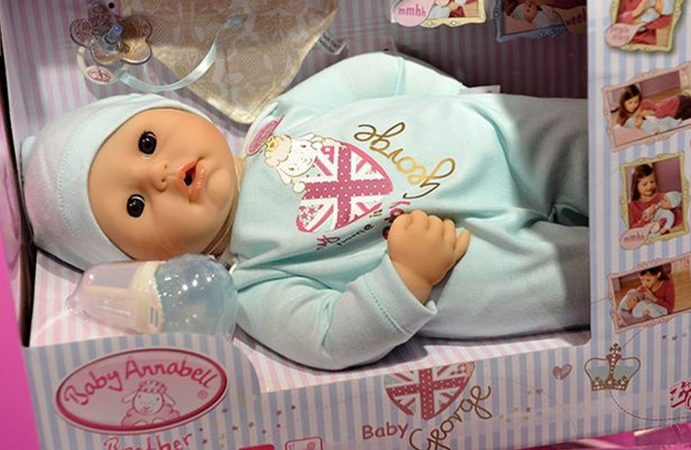 Prince George : Une poupée à son effigie !