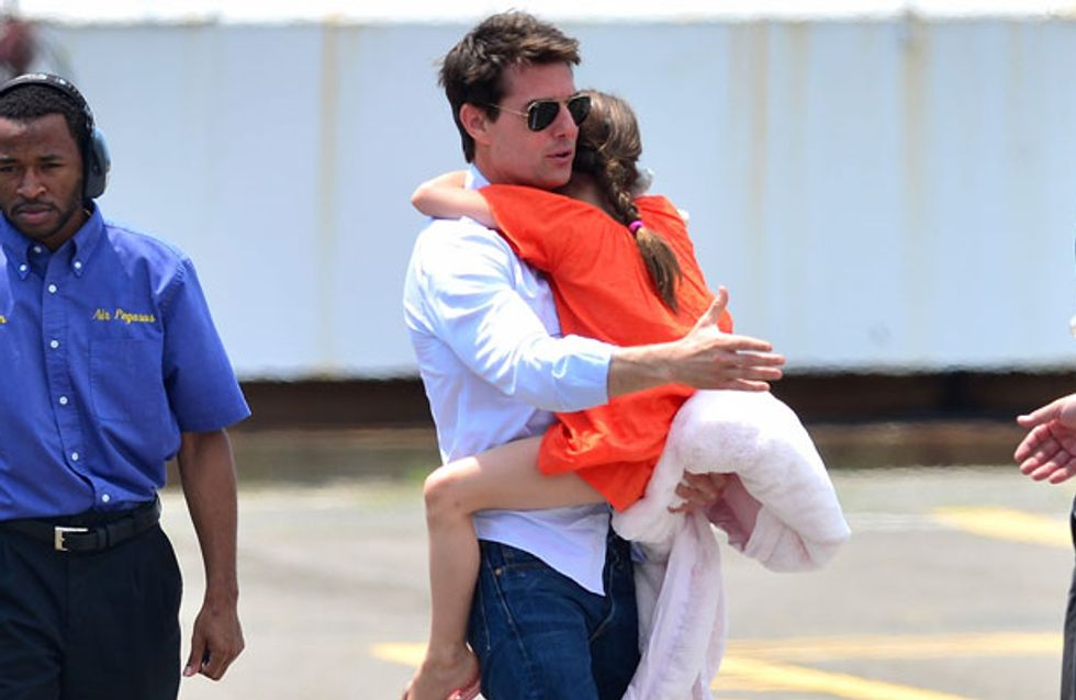 Tom Cruise talks about why he didn't see daughter Suri for 100 days