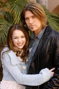 Miley Cyrus et son père
