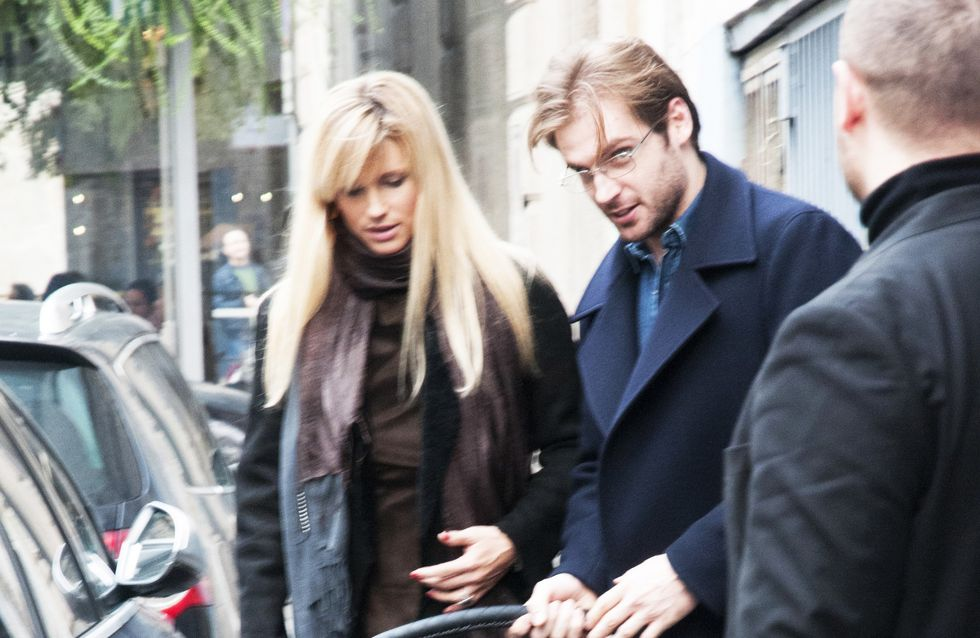 Michelle:shopping con Tomaso e Sole