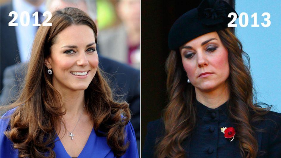 Augenringe & eingefallene Wangen: Was ist nur mit Kate passiert?