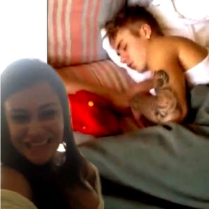 Justin Bieber & Tati Neves