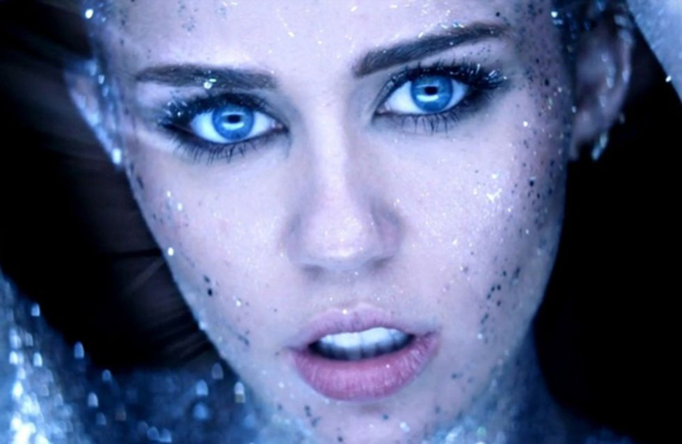 WATCH: Miley Cyrus naked and painted silver in 'Real And True' video