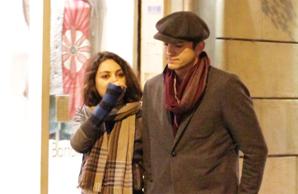 Ashton Kutcher & Mila Kunis: Hochzeit wie Kate & William?